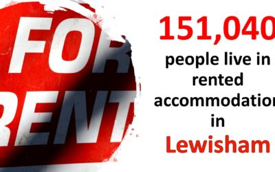151,040 People Live in Rented Accommodation in Lewisham