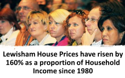 OK 'Lewisham' Boomer  Lewisham House Prices Have Risen by 160% as a Proportion of Household Income Since 1980