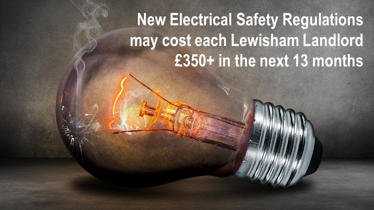 New Electrical Safety Regulations Could Cost Each Lewisham